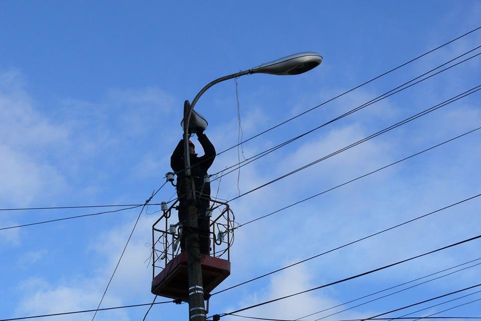 Плановий ремонт та відновлення освітлення