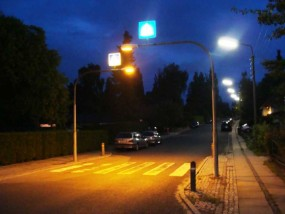 Роботи по освітленню вулиць міста